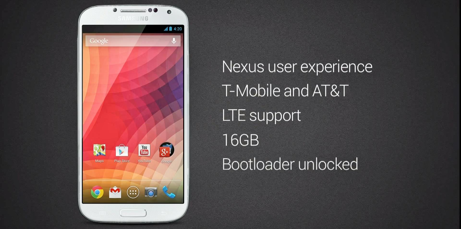 Galaxy S4 ohne TouchWiz